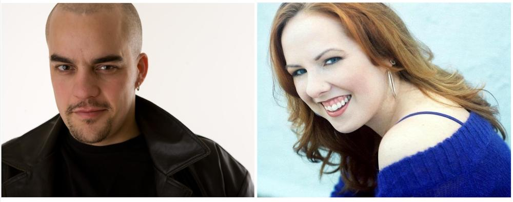 Luke Tudball  &  Heather Bagnall   - Co-Founding Artistic Directors -  Tasty Monster Productions