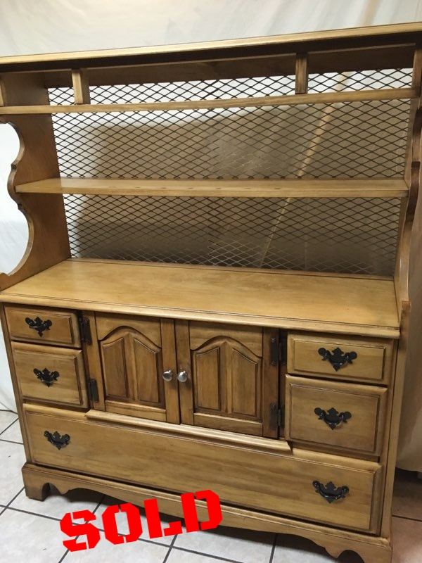 Hand-Finished Kitchen Hutch