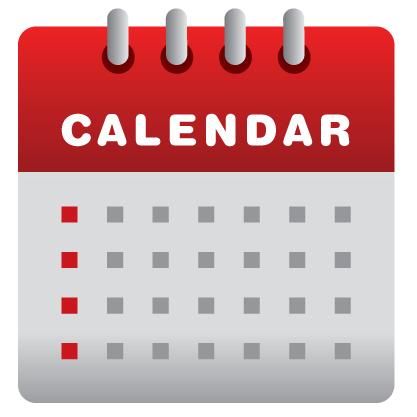 Tasty Monster Event Calendar