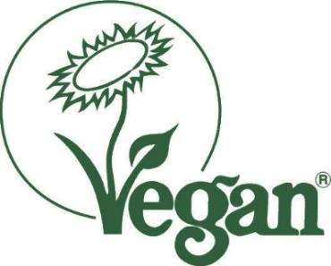 Vegan Trademark Logo