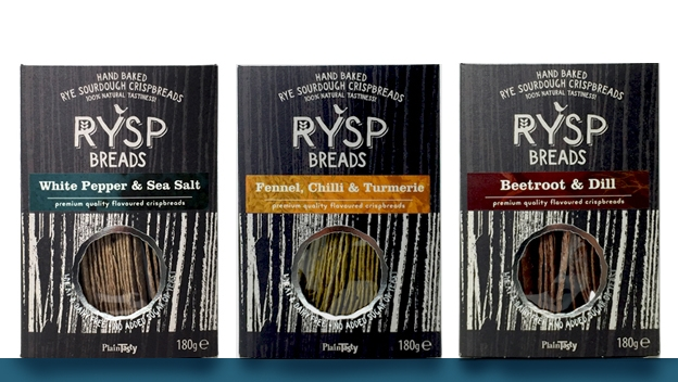 RYSP Breads -  100% Rye Sourdough Crisp Breads in 3 new flavours