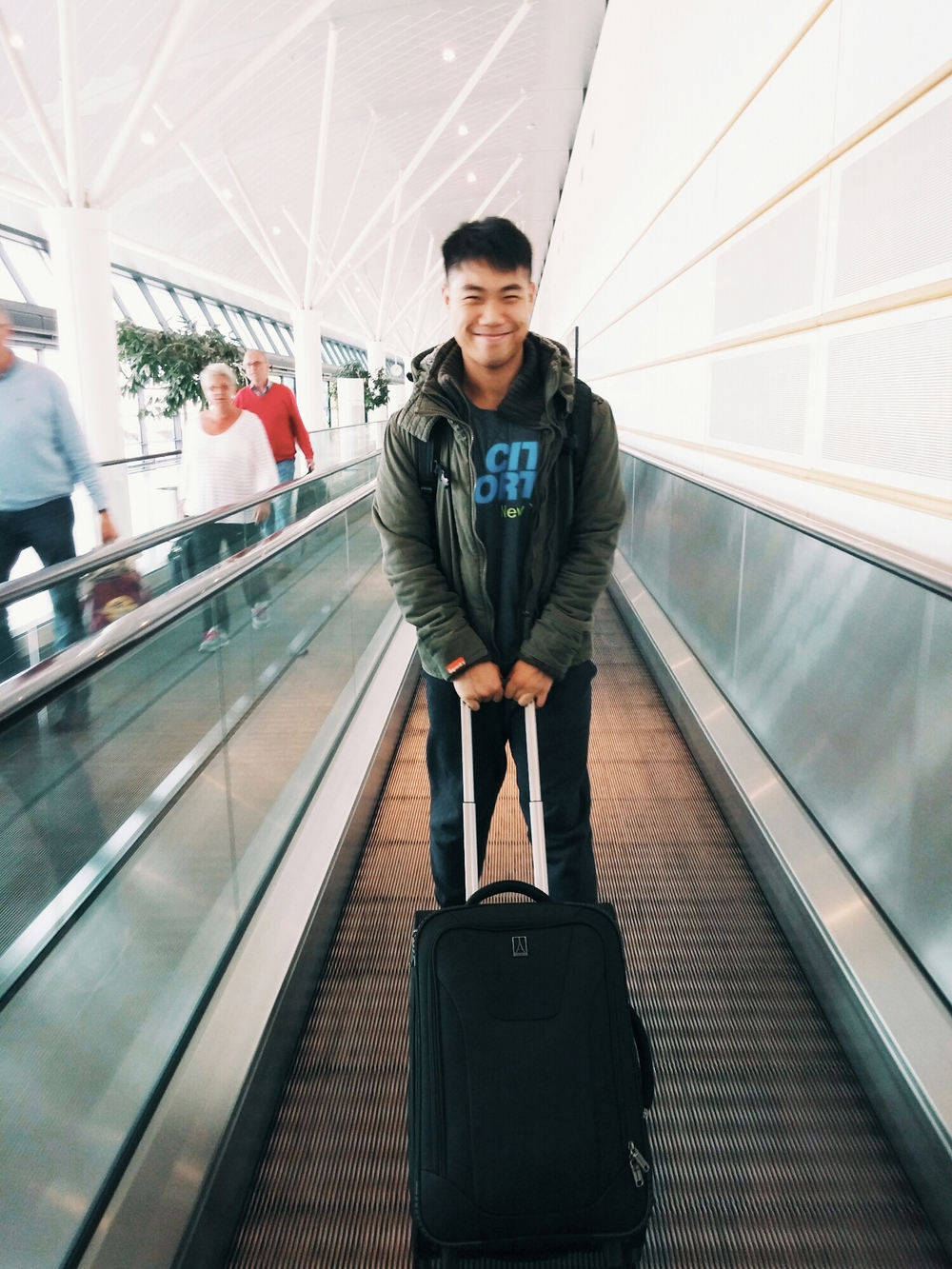 {My travel buddy!}