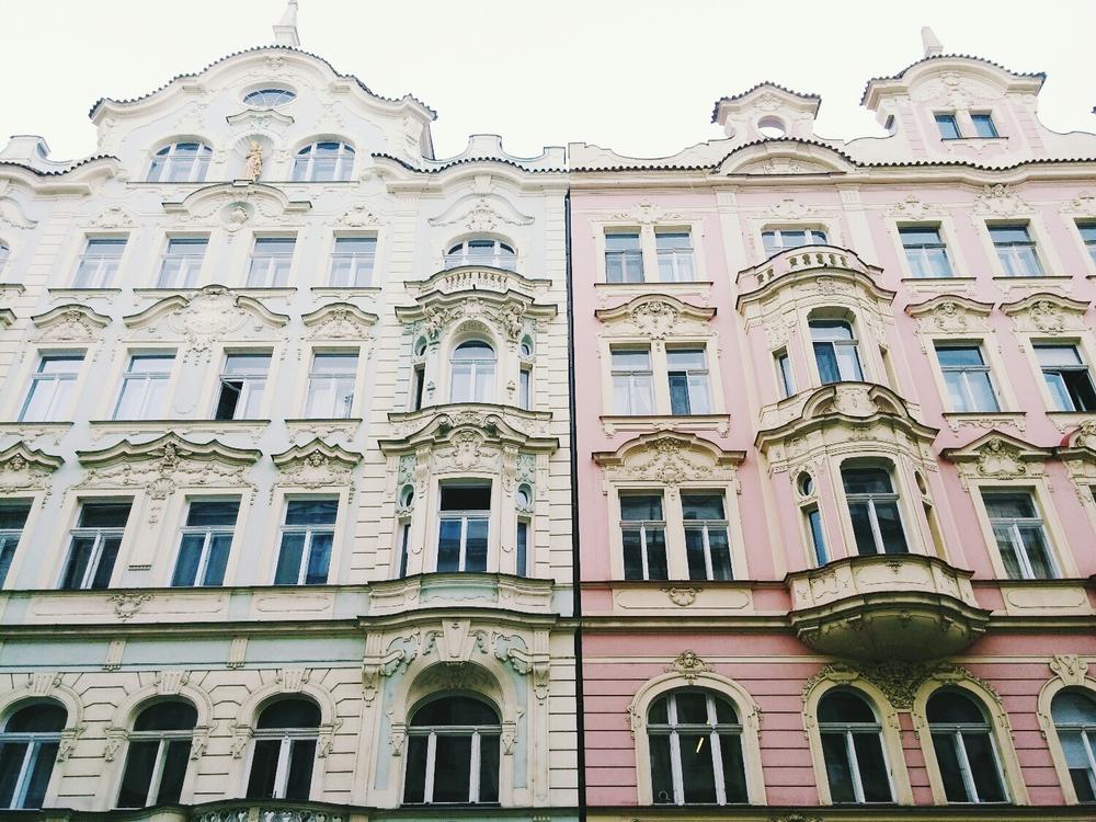 {Beautiful buildings.}