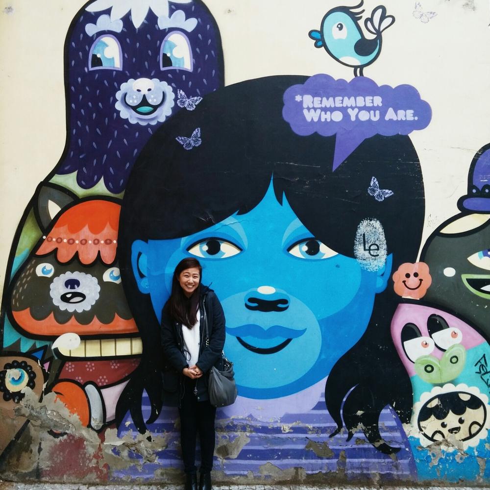 {Some street art action. Siiiiimbaaaaaa.}