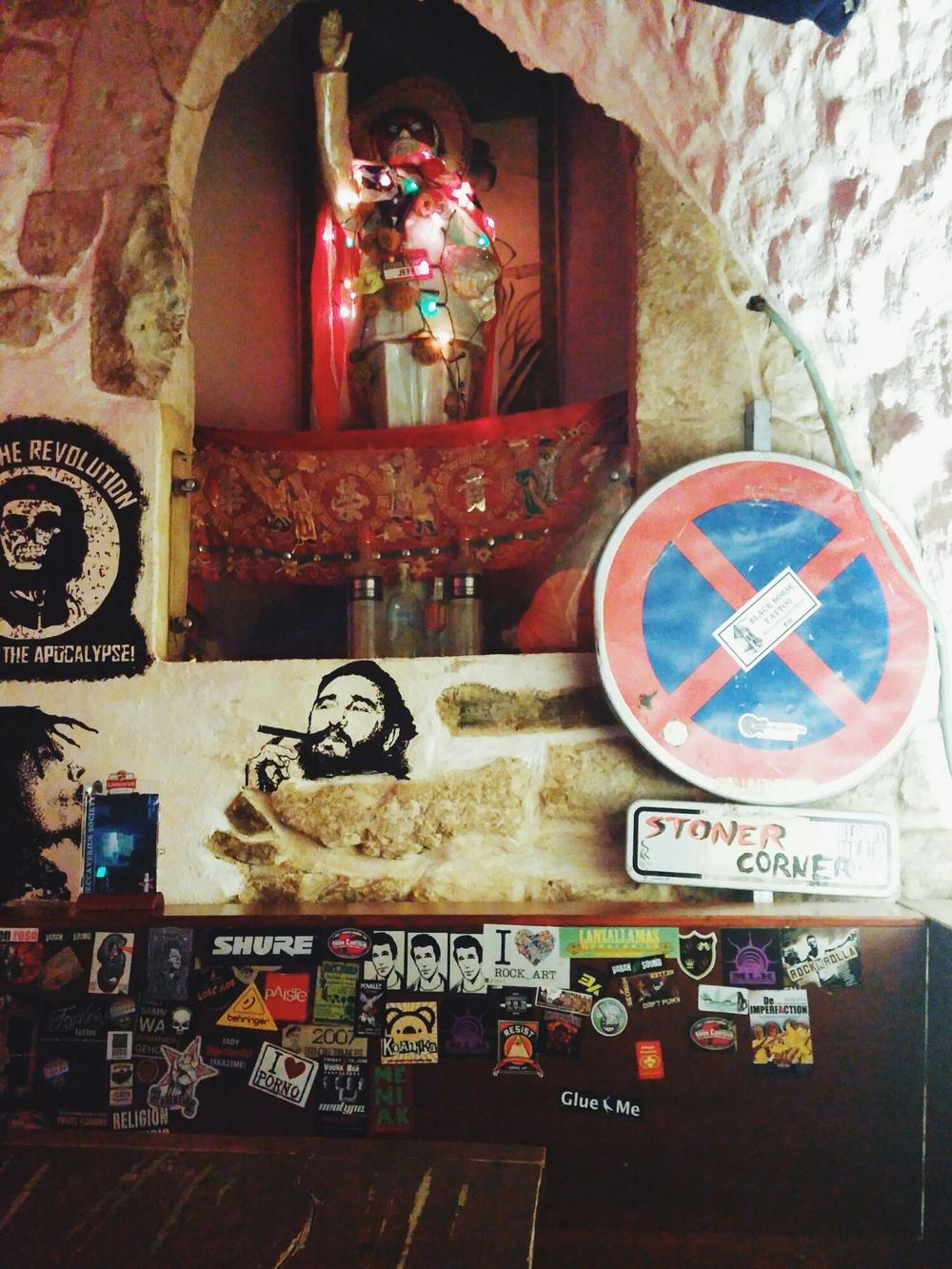 {Propaganda Bar with Lumi.}