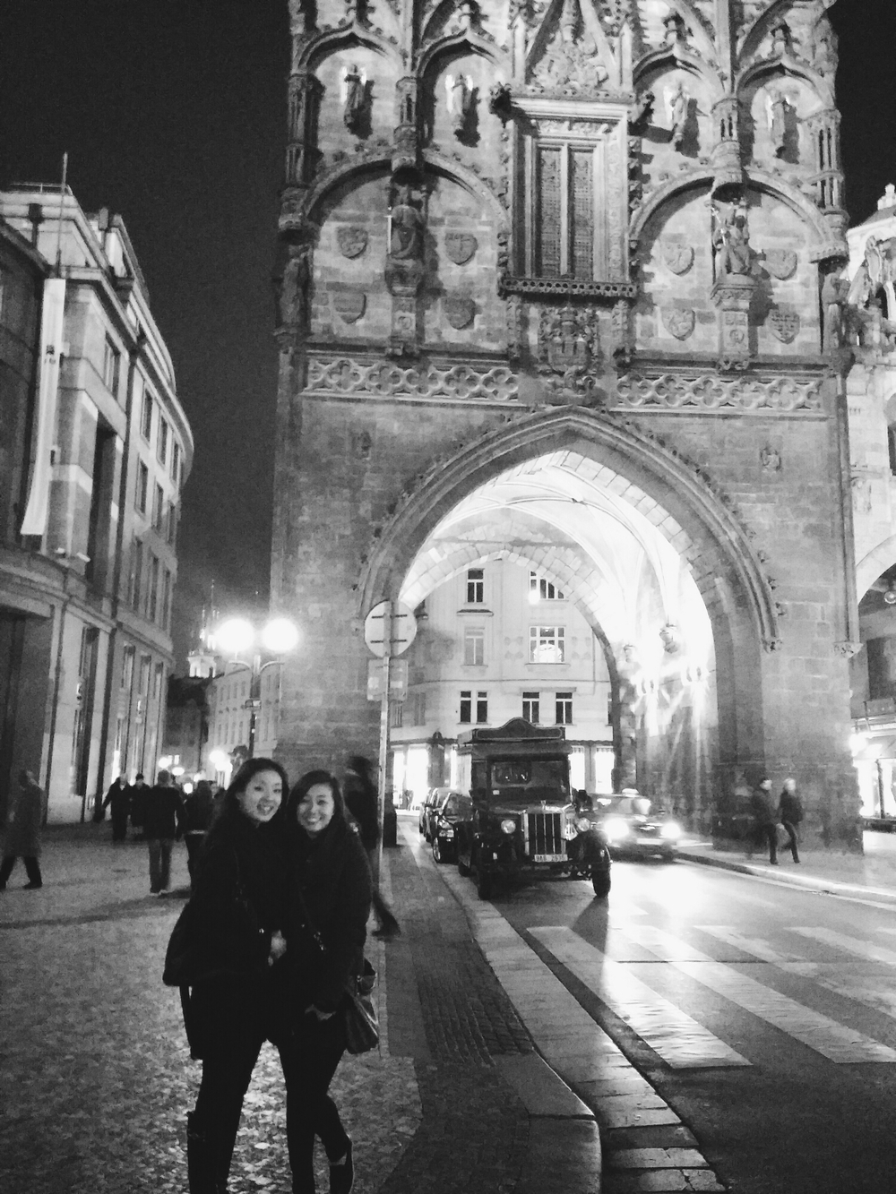 {Reunited with my love in Prague!}