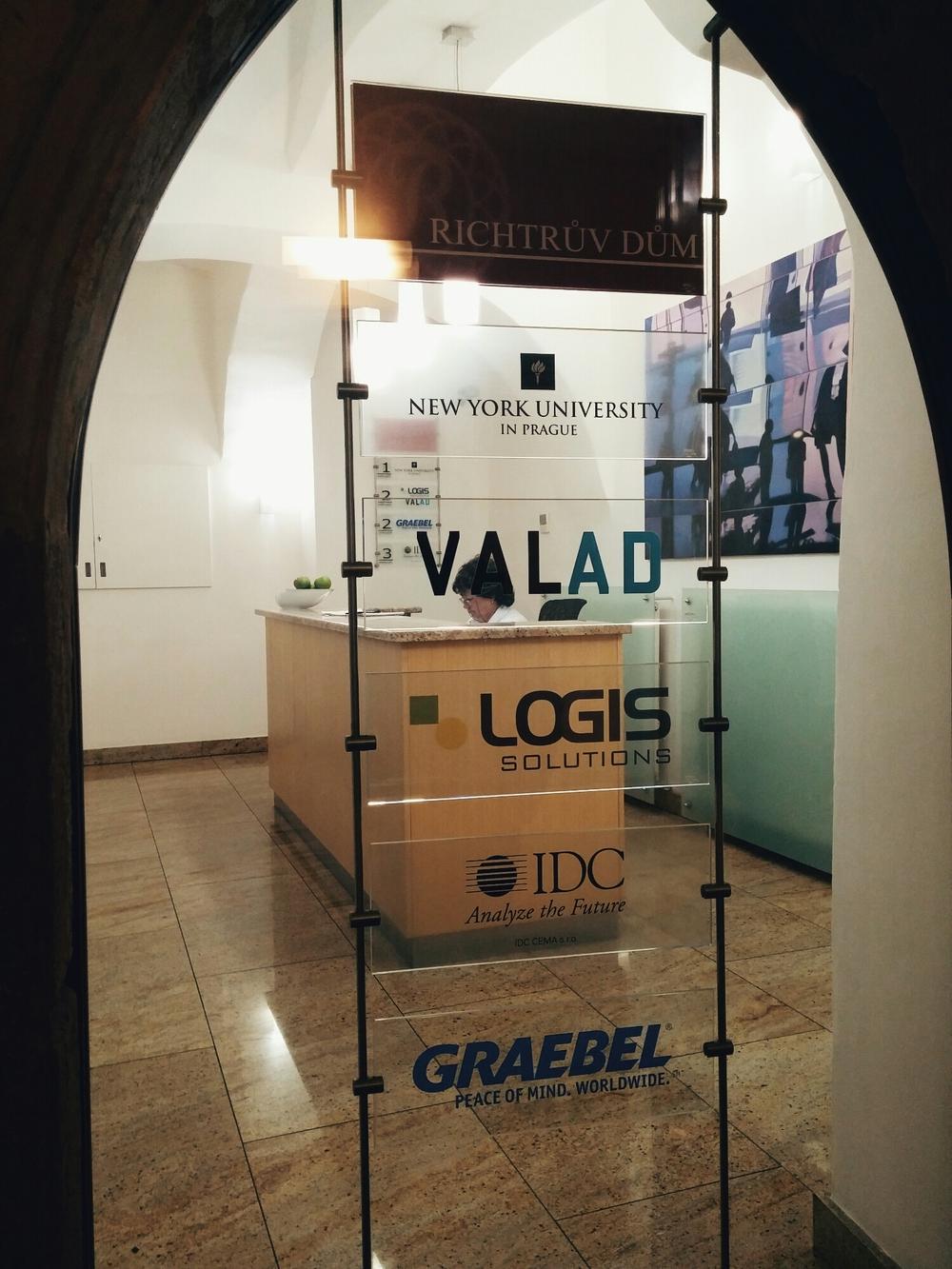 {NYU in Prague!}