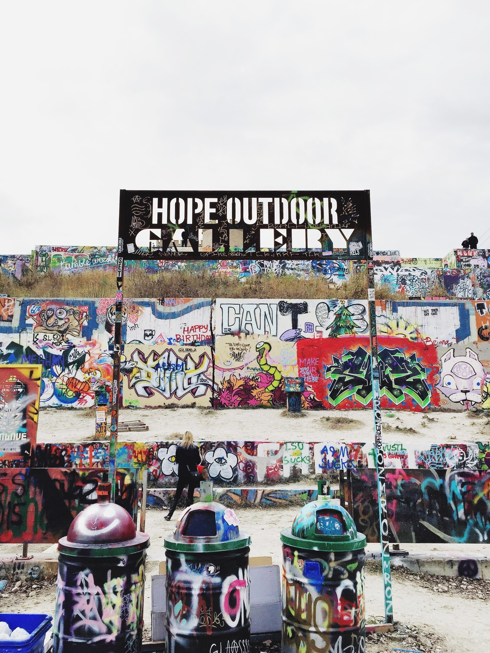 {hope outdoor gallery.}