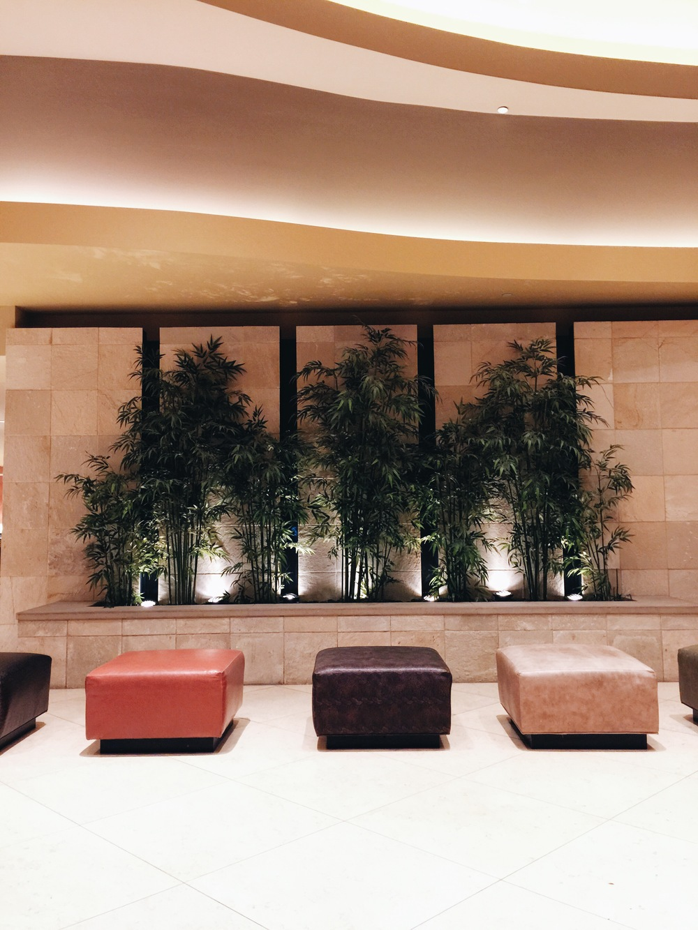{inside of the hilton austin.}