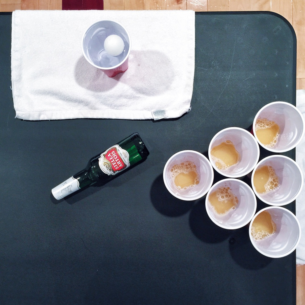 {Cleanest games of beer pong ever}