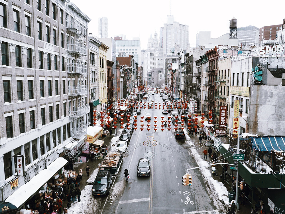 {Chinatown from the Manhattan Bridge}
