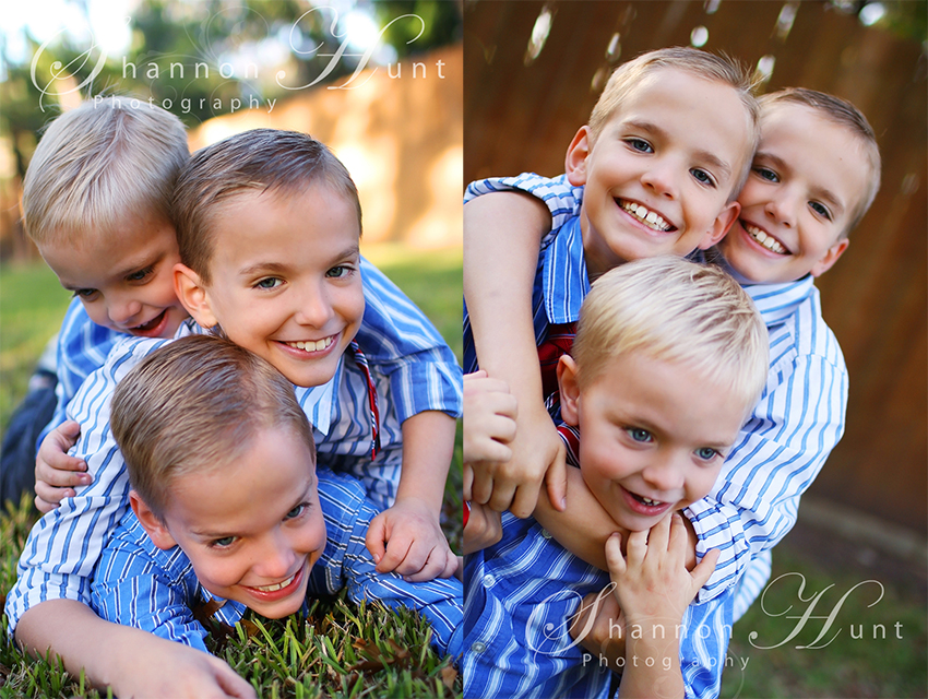 three brothers by Temple TX photographer