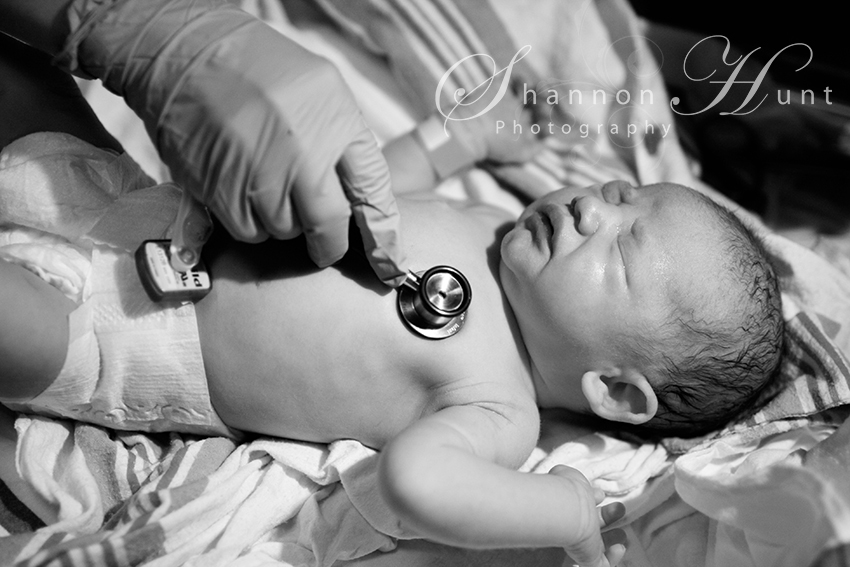 Daughter's birth by Temple, TX photographer