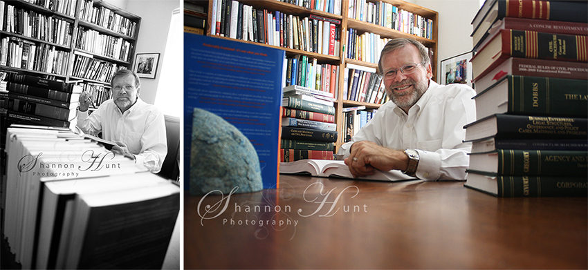 father with books by Shannon Hunt Photography Dallas TX photographer