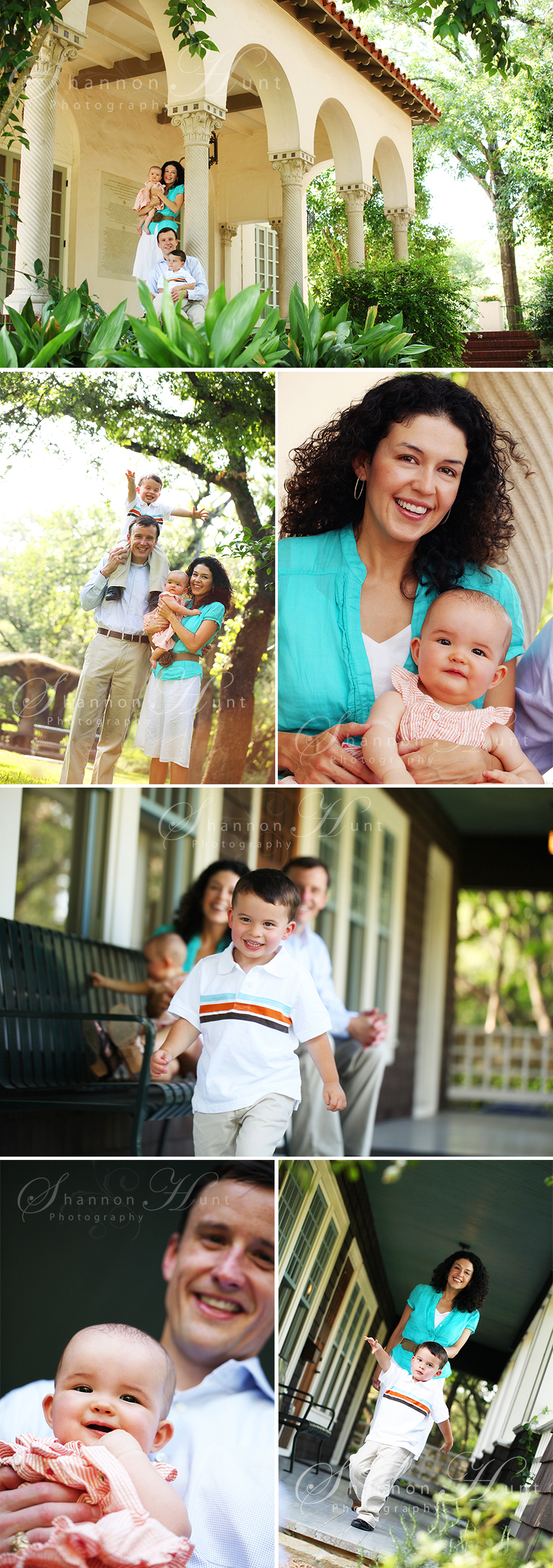 family of four in Temple Texas photographer