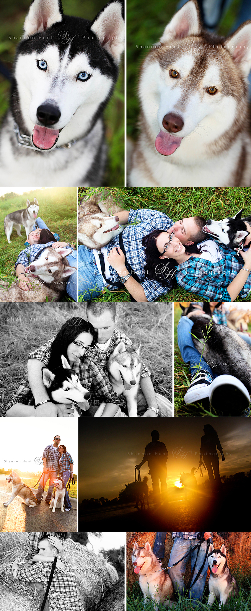 couple and dogs by Temple TX family photographer