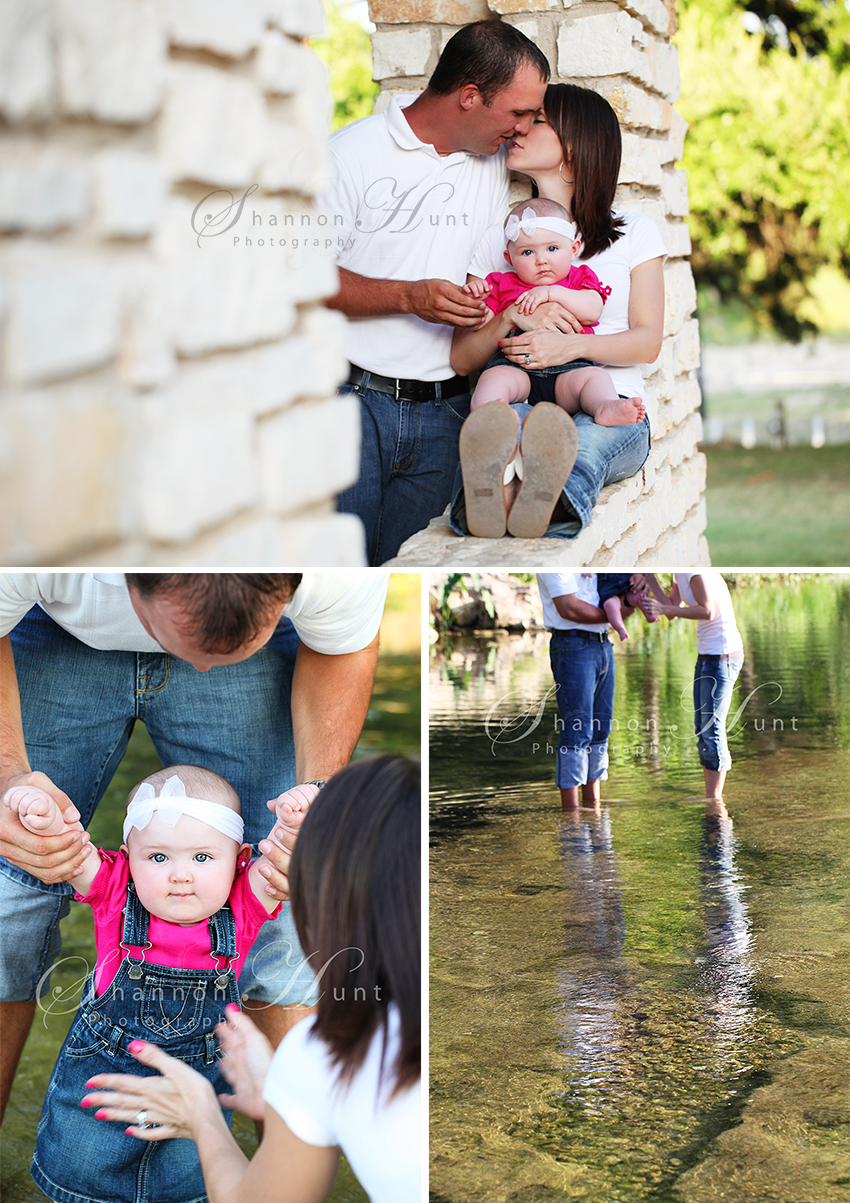 family and baby by Temple TX photographer