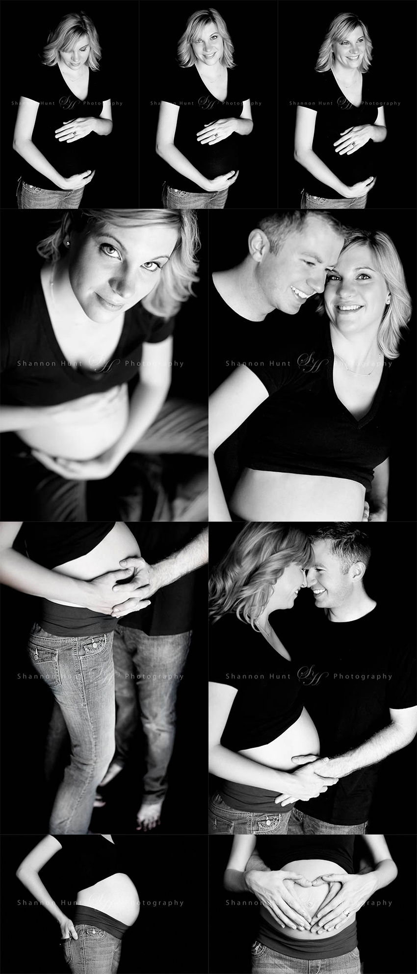 maternity portraits by Temple TX photographer