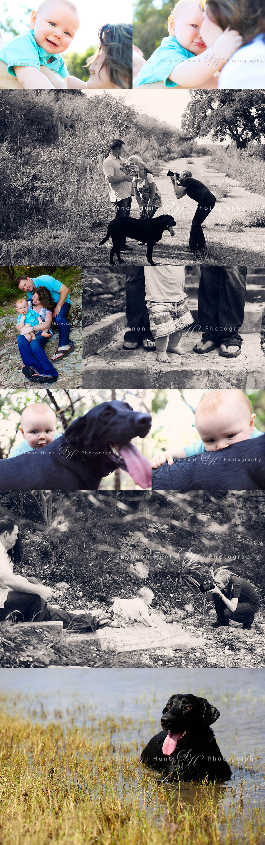 family and baby by Temple TX photography