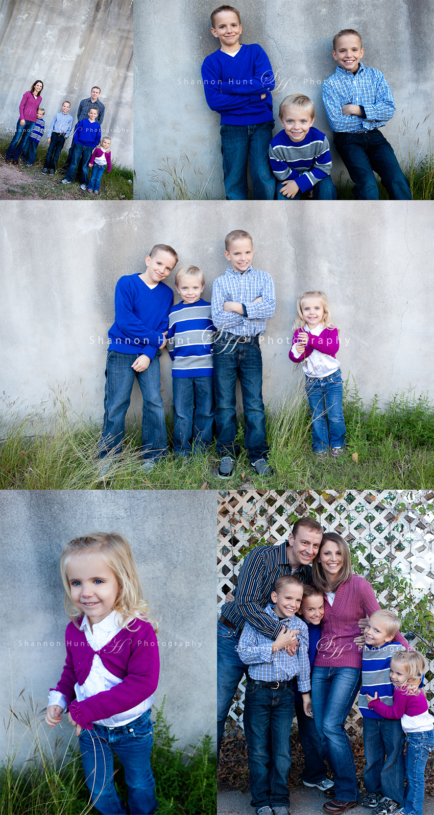 family and twins by Belton TX photographer