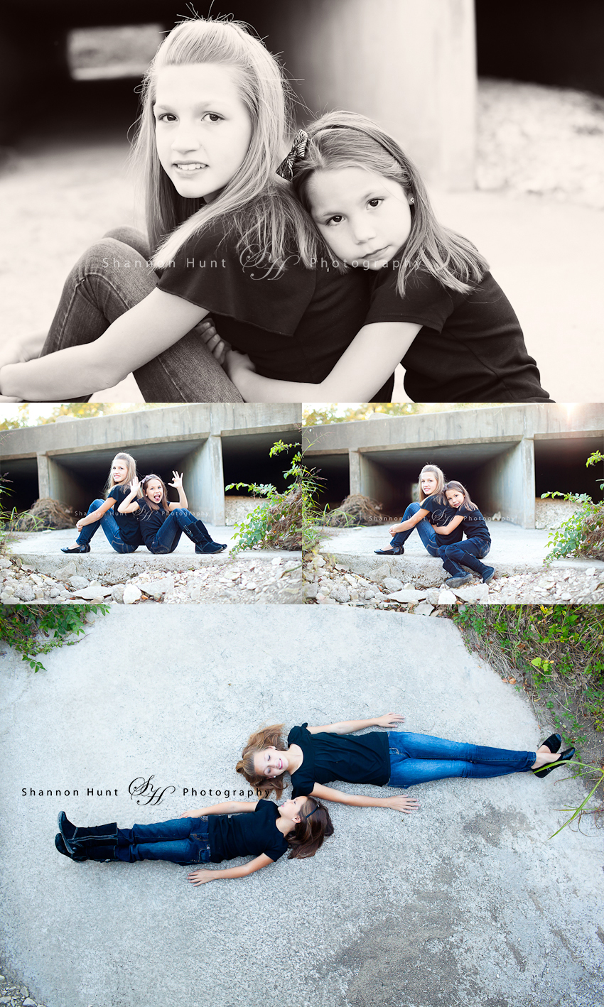 sisters by Salado, TX photographer