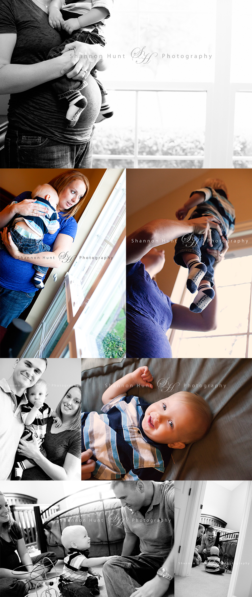 family at home by Salado, TX photographer