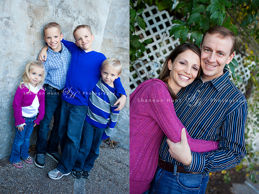 family of six by Temple, TX photographer