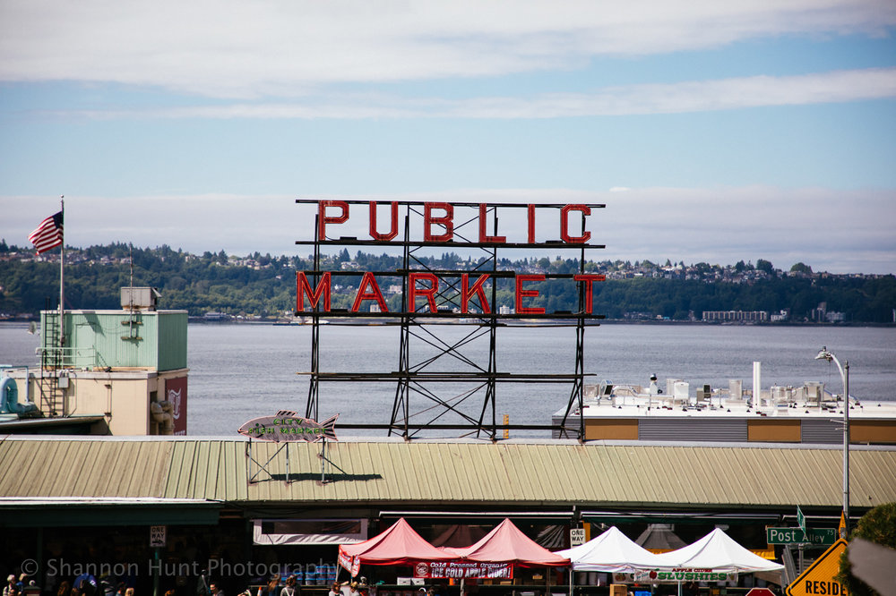 Had to visit the iconic Pike's Place Market.