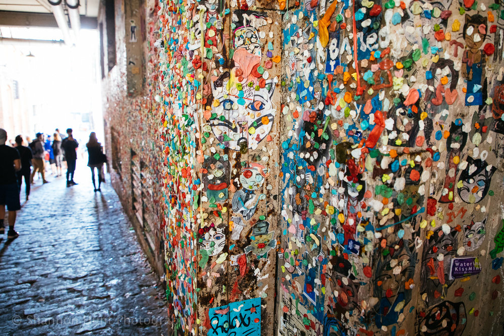 I definitely felt like I needed to bathe in hand sanitizer after walking through the gum wall alley. Ha! Glad we stumbled on it though and did all the cliche tourist stuff.