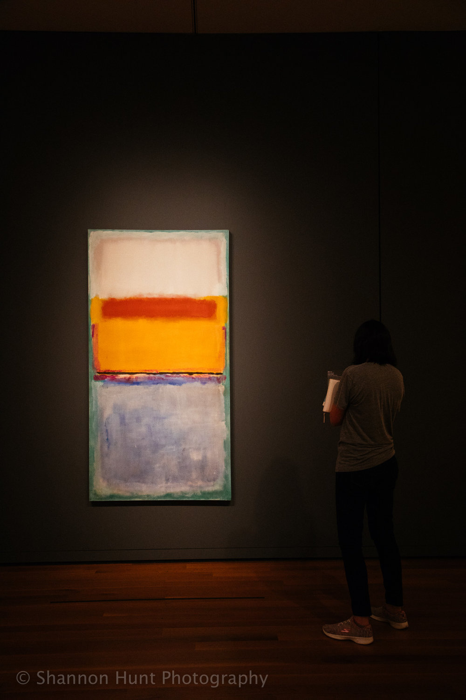 Rothko! (And my friend Lorraine.)