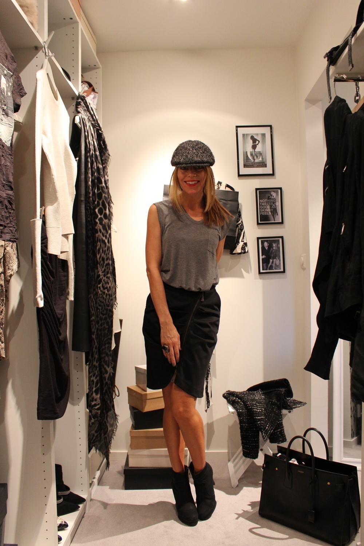 Location; MrsBs wardrobe