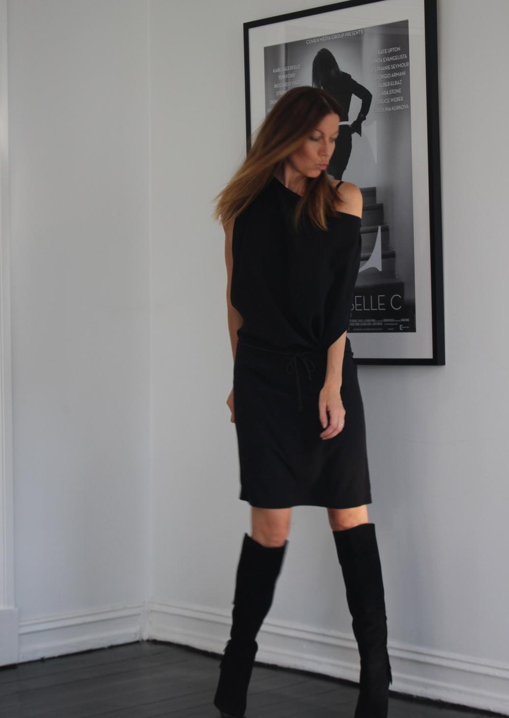 Kjole Filippa K // Veske Chanel // Boots Aquazzura