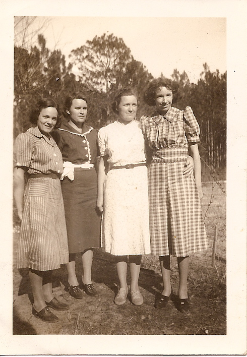 The Jackson Sisters. Letha, Frances, Avie & Ludell