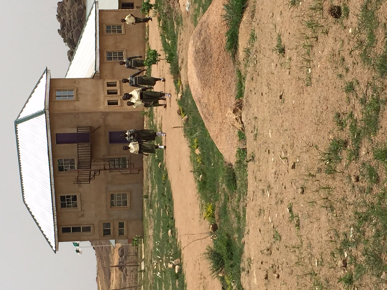 The new school for orphans, Zambiri (Life is not an accident)