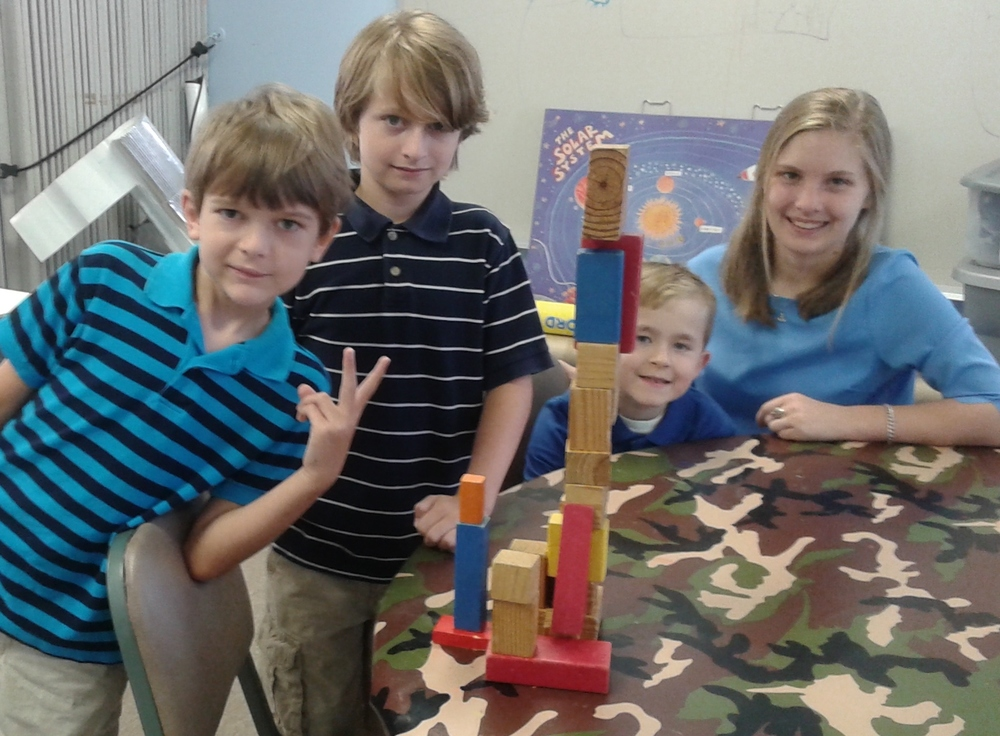 Building a tower with Jesus as the cornerstone