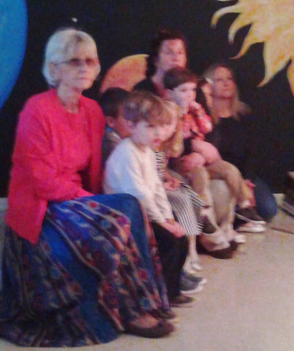 The Preschool class watches the movie.