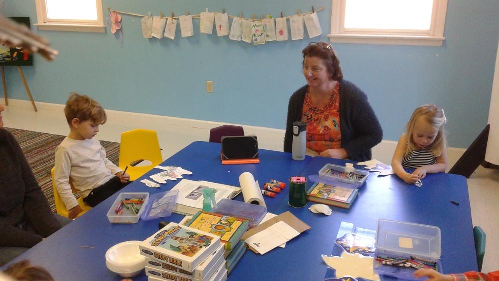 Ms. Lori's preschool class.