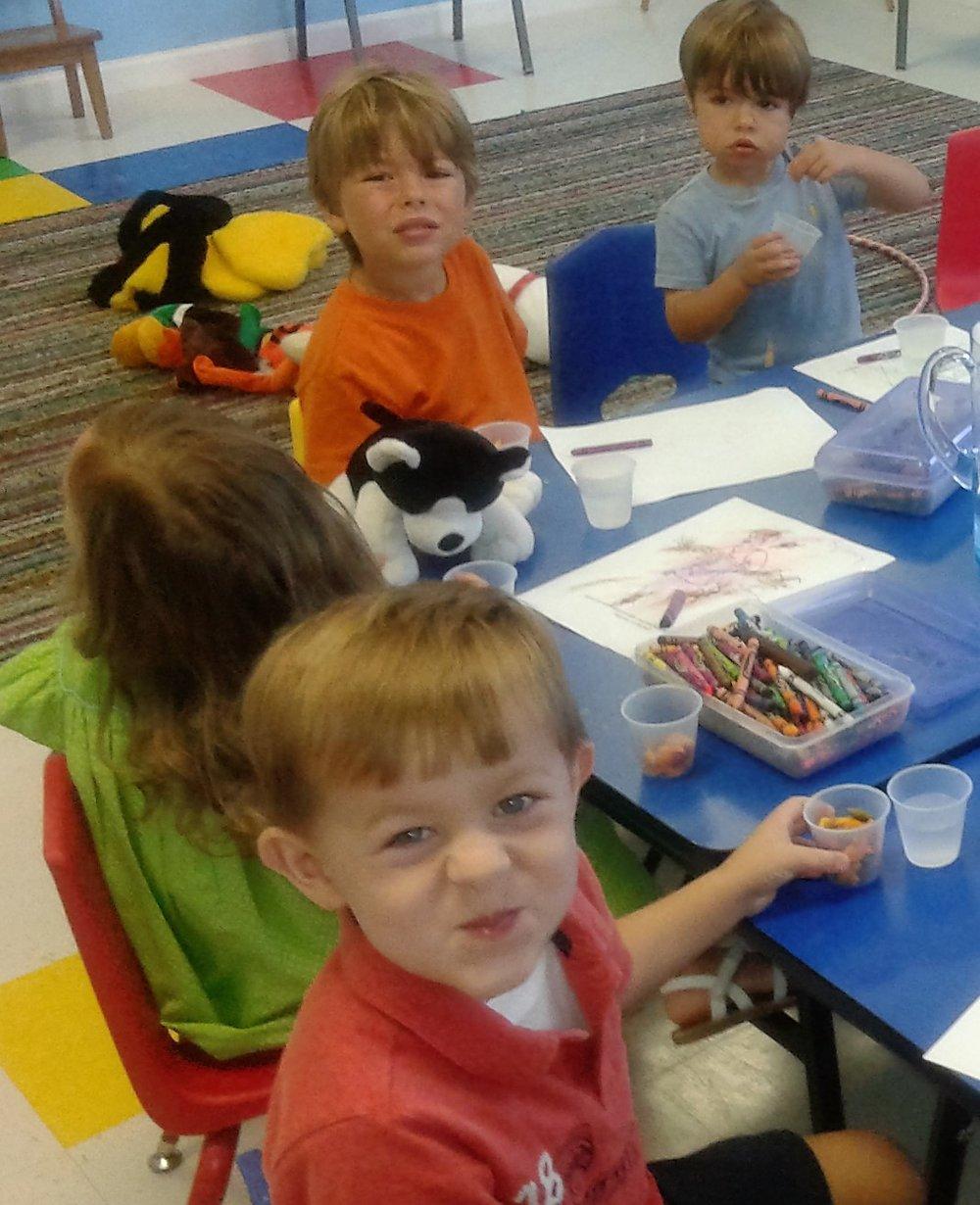 Preschoolers learn about...