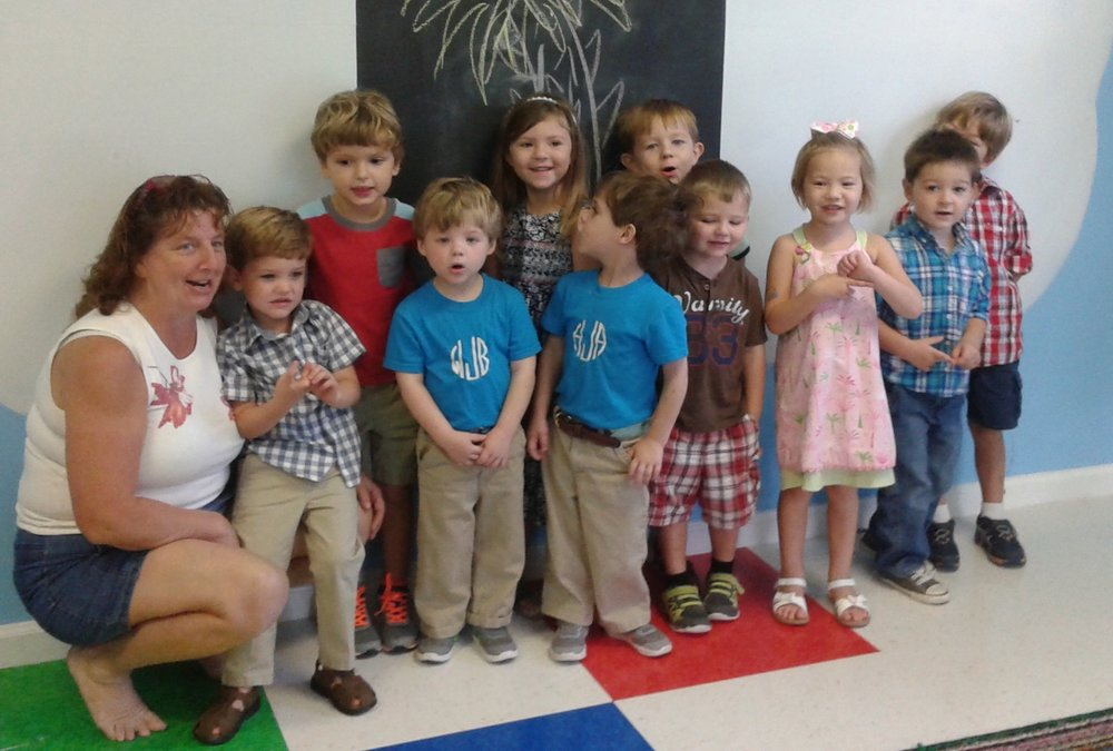 Preschoolers follow Jesus!