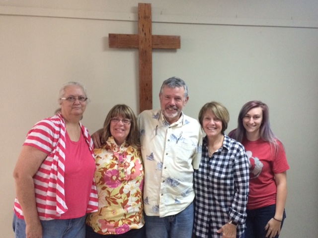Teresa Parish, Paula & Steve Coffin, Nancy Borrett, Emma Herman