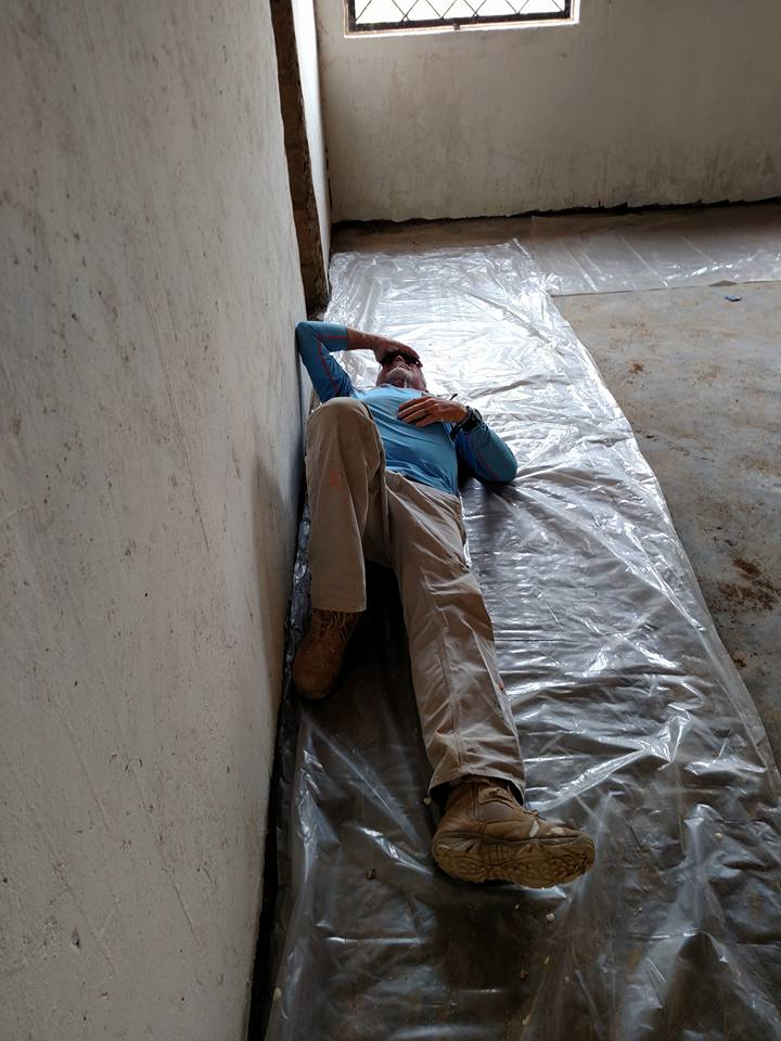 Drop Cloth has a new meaning