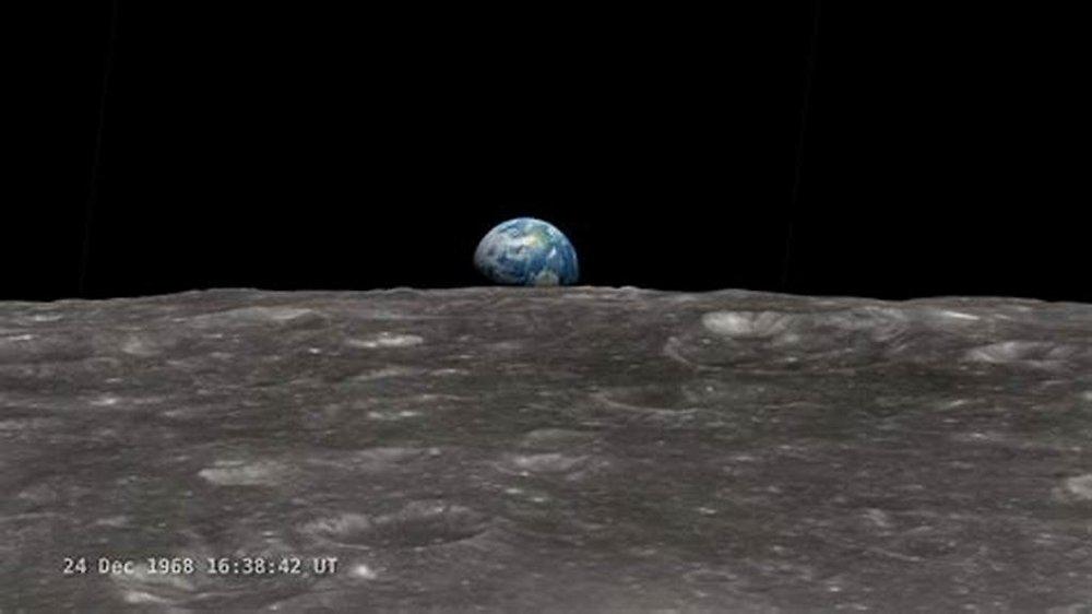 On December 24, 1968, the members of Apollo 8, from far above in the lunar orbit, looked down and admired the beauty and greatness of the planet Earth, just as God did when He made the decision to send His only Son to Earth, the Visited Planet.