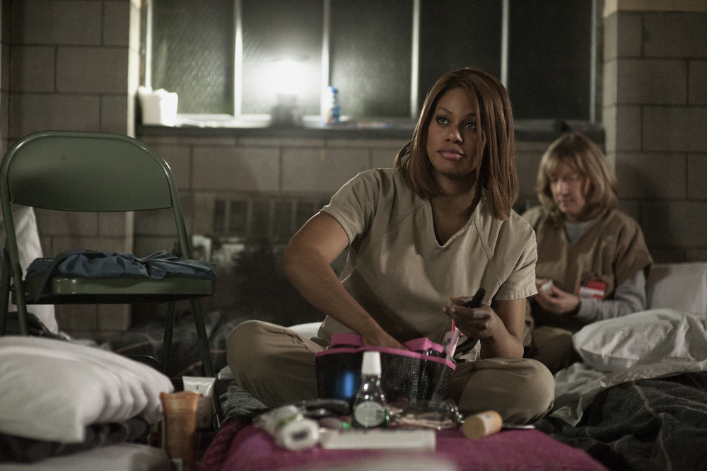 OUTSTANDING GUEST ACTRESS IN A COMEDY SERIES LAVERNE COX - ORANGE IS THE NEW BLACK