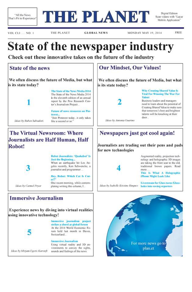 Disrupting Newspapers Newspaper.jpg