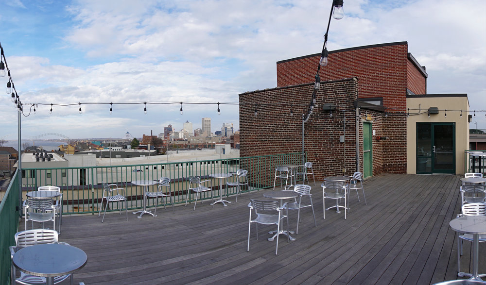 Rooftop Deck - North View