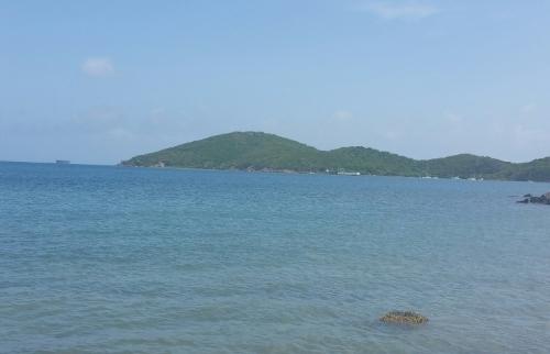 The beautiful island of St. Thomas.