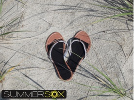 SummerSox no-show socks for flip-flops
