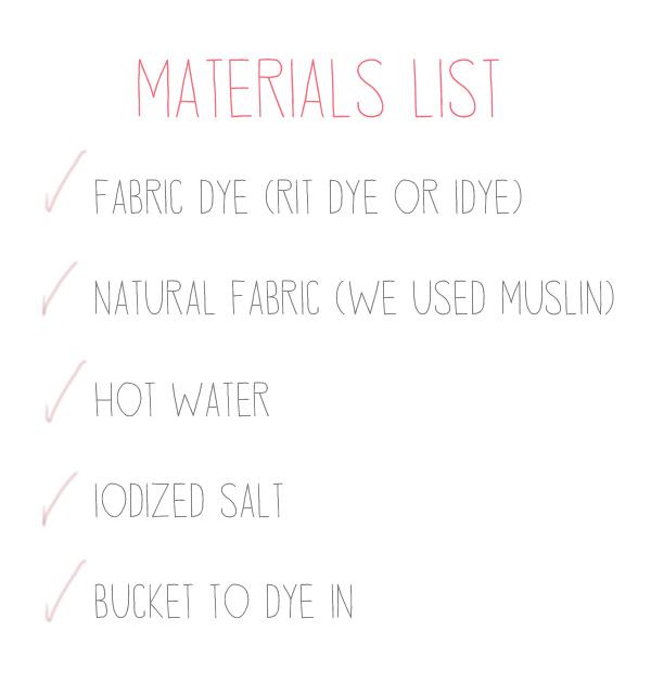ombre-materials-list