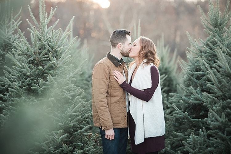 Charm City Wed - Tree Farm Engagement Session [Featured Photoshoot]