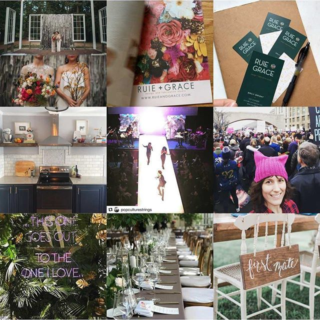 Here's our #2017bestnine with 5,082 likes!!!! Thank you everyone for the #instalove and here's to a very busy and happy 2018!!!! 🥂 🍻 #rvaweddings #weddingdecor #stayingbusy